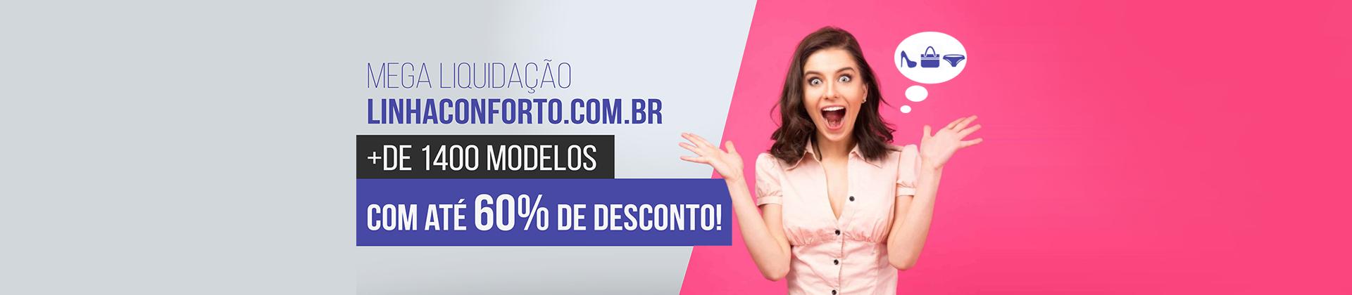 Liquidação LinhaConforto.com.br