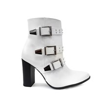 BOTA CANO MEDIO SALTO GROSSO 18-6602-VIA MARTE 14I - OFF WHITE