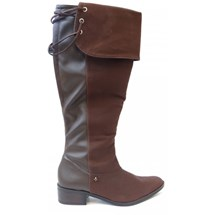BOTA MONTARIA OVER KNEE 136804 CRAVO E CANELA (05) - CAFE