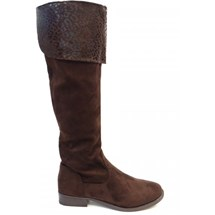 BOTA MONTARIA OVER THE KNEE 75118 MOONCITY (07) - MARROM