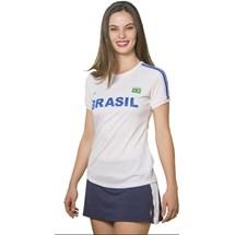 CAMISETA BABY LOOK FEMININA BRASIL 125702 - ELITE - BRANCO BRANCO AZUL ... ed841aefff60a