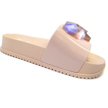 CHINELO BARBIE SLIDE LOVE LED 21635 - GRENDENE - ROSA CLARO/ROSA