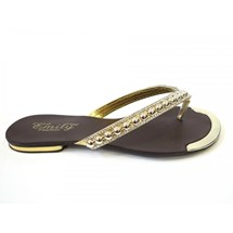 CHINELO RASTEIRA 711 EMILY FASHION - OURO