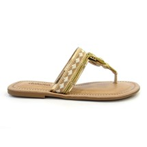 CHINELO RASTEIRA Z2791 - DAKOTA (56) - OURO LIGHT