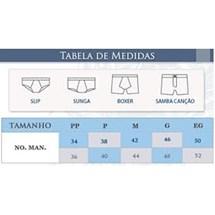 CUECA BOXER 95% ALGODÃO 00653 - LUPO - PRETO