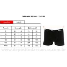 CUECA BOXER 95% ALGODÃO 170.26 - MASH - CINZA