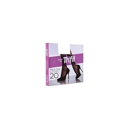 MEIA 3/4 FIO 20 W06106 - TRIFIL - NATURAL CLARO