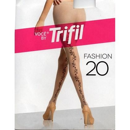 7ff31244d MEIA CALÇA FIO 20 W06909 - TRIFIL - PRETO - Linha Conforto