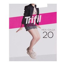 MEIA CALÇA INFANTIL FIO 20 W06852 - TRIFIL - ROSA