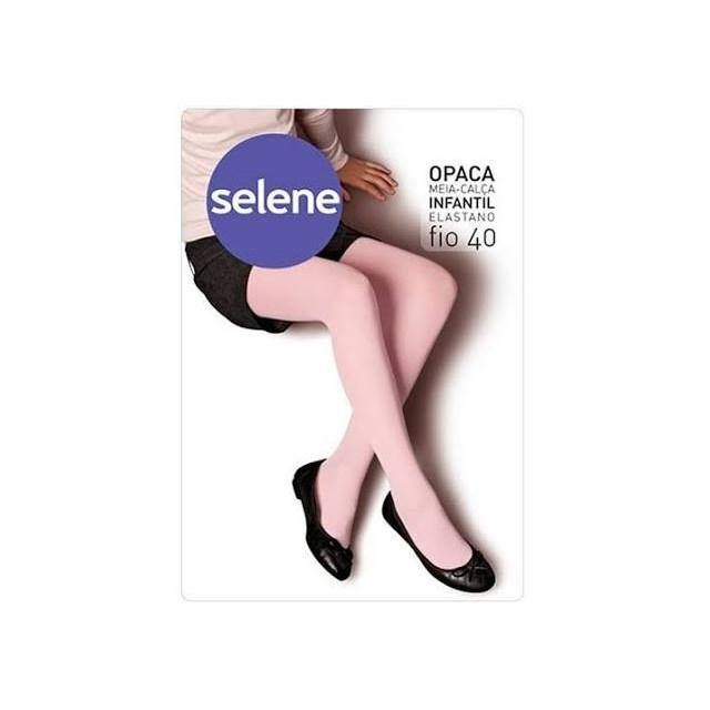 MEIA CALCA INFANTIL FIO 40 9570 SELENE - ROSA