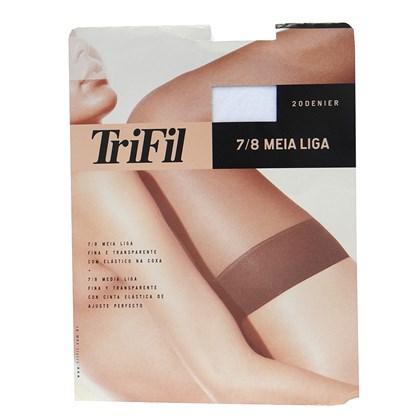 0e3c9d8c6 MEIA LIGA 7 8 FIO 20 W06001 - TRIFIL - BRANCO - Linha Conforto