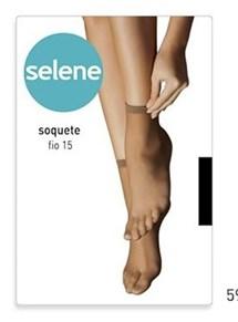MEIA SOQUETE FIO 15 9870 - SELENE - NATURAL