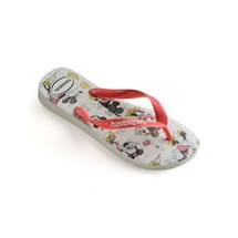 SANDALIA CHINELO DISNEY STYLISH - HAVAIANAS - BRANCO/CORAL NEW