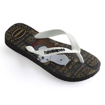 SANDALIA CHINELO KIDS CARTOON - HAVAIANAS - PRETO