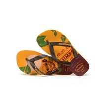 SANDALIA CHINELO KIDS LION KING - HAVAIANAS - AMARELO BANANA