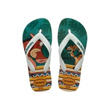 SANDALIA CHINELO KIDS LION KING - HAVAIANAS - AREIA