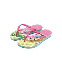 SANDALIA CHINELO KIDS SLIM TANGLED - HAVAIANAS - ICE BLUE