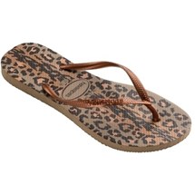 SANDALIA CHINELO SLIM ANIMALS - HAVAIANAS - AREIA