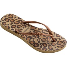SANDALIA CHINELO SLIM ANIMALS - HAVAIANAS - BEGE