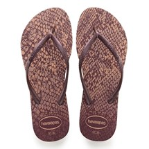 SANDALIA CHINELO SLIM ANIMALS - HAVAIANAS - ROSA CROCUS