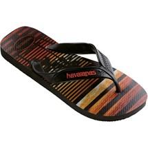 SANDALIA CHINELO SURF HAVAIANAS - CINZA CHUMBO/PRETO