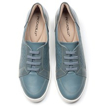 TENIS CASUAL CONFORTO 995004 PICCADILLY L175 - AZUL VINTAGE