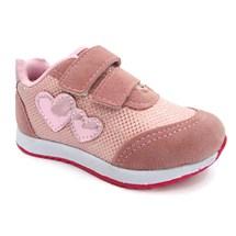 TENIS INFANTIL MENINA VNJ156 VIA VIP (09) - ROSA