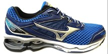 TENIS WAVE CREATION 18 4136571 - MIZUNO (08) - AZUL/PRATA