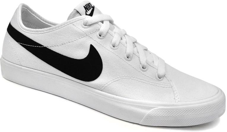 nuevo Tênis Nike Primo Court Canvas Casual Feminino Preto