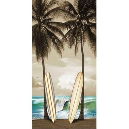 TOALHA DE PRAIA RESORT VELUDO - BOUTON - SURF